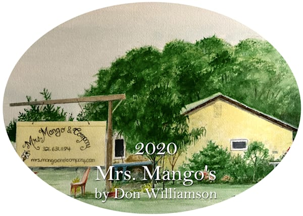 2020 Mrs. Mango's Ornament by Don Williamson