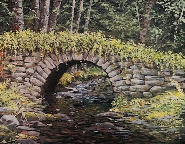 Forest Bridge Art | Skip Marsh Art