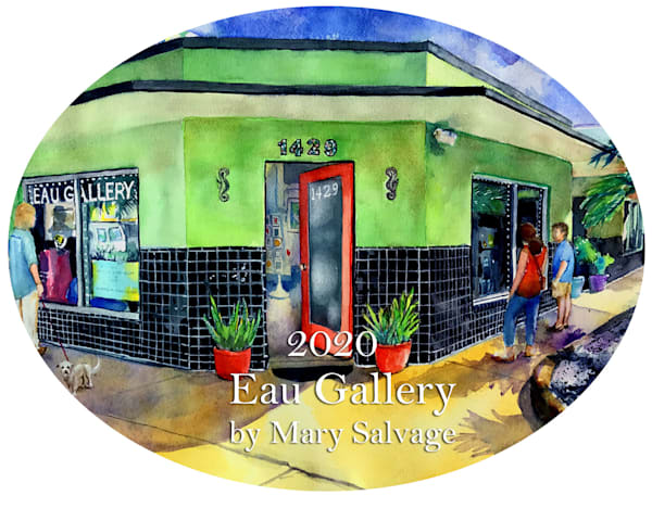 2020 Eau Gallery Cover Ornament by Mary Salvage