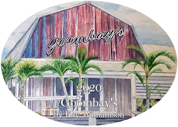 2020 Goombay's Ornament by Kay Williamson
