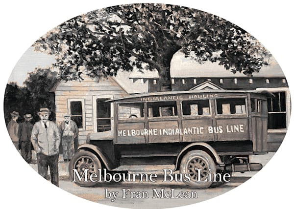 2020 Melbourne Bus Line Ornament by Fran McLean