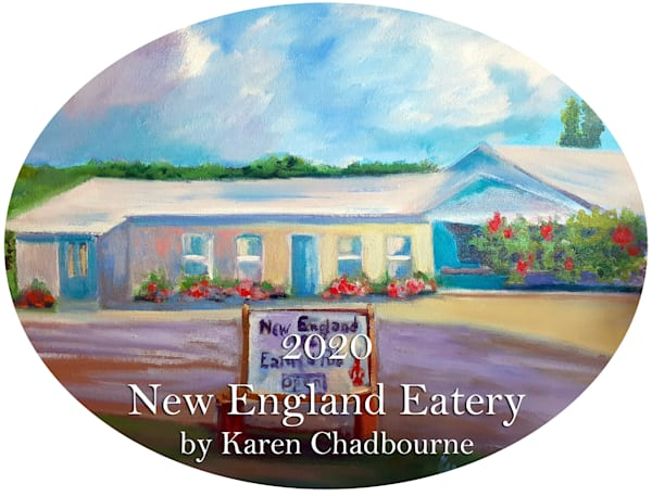 2020 New England Eatery Ornament by Karen Chadbourne