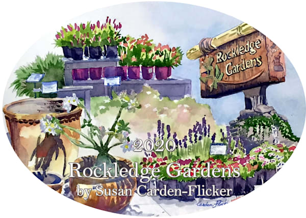 2020 Rockledge Gardens Ornament by Susan Carden-Flicker