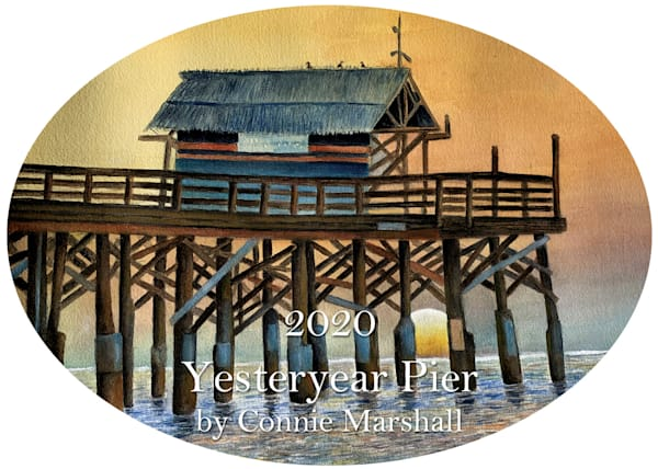2020 Yesteryear Pier Ornament by Connie Marshall