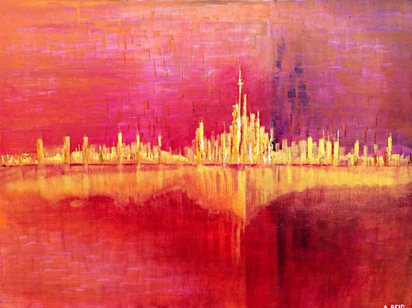 TORONTO THE GOOD - PRINT - ANNE REID ARTIST