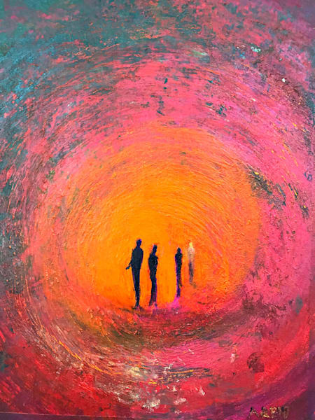 FOURTH MAN - PRINT - ANNE REID ARTIST
