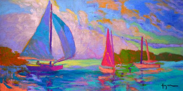 West Wind Art | Dorothy Fagan Joy's Garden