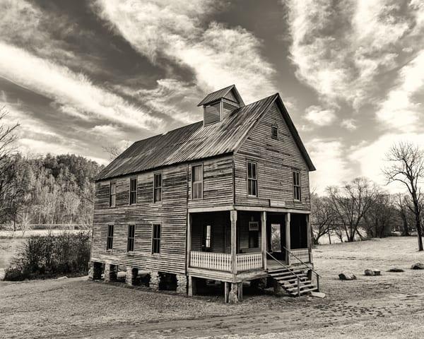 Hiawassee Union Baptist Church - Smoky Mountains fine-art photography prints.