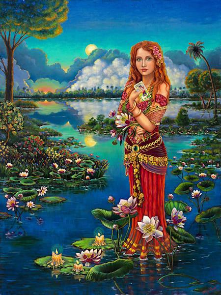 The Gypsy Queen Original Painting Art   miaprattfineart.com