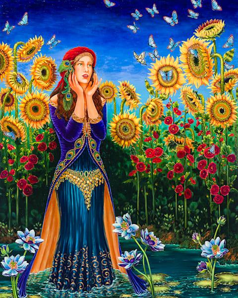 Soiree Du Papillon Original Fine Art Painting Art   miaprattfineart.com