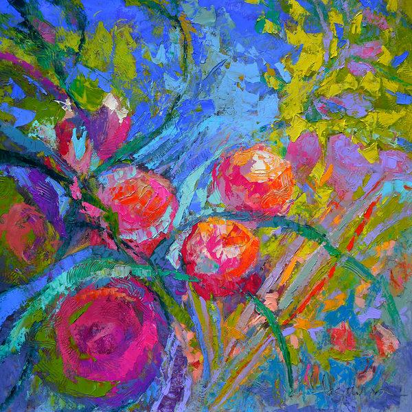 Peony Passion  Art | Dorothy Fagan Joy's Garden