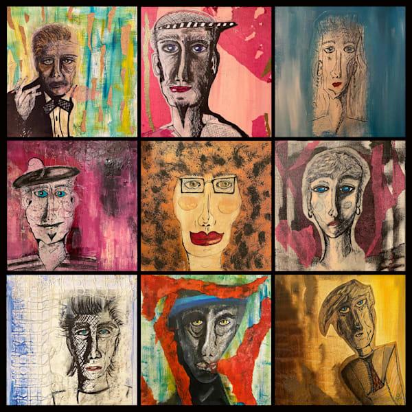 The Characters Art | Gigi Collins Art