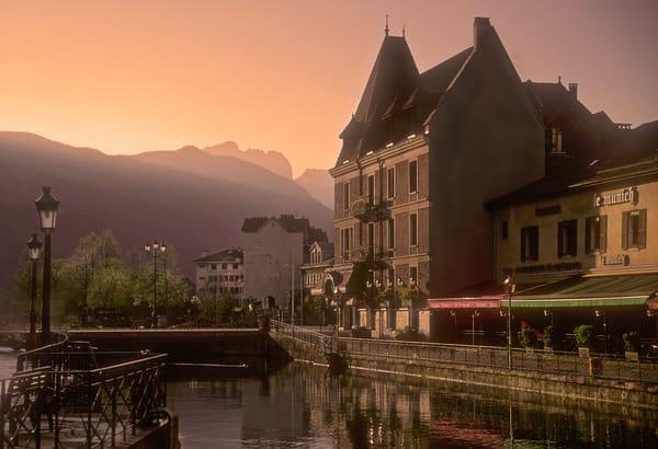 Annecy in Golden Light