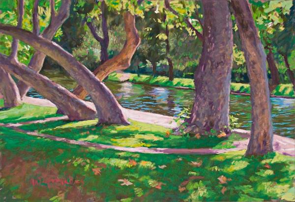 1 Mile Pool  Art   Waif Mullins Art