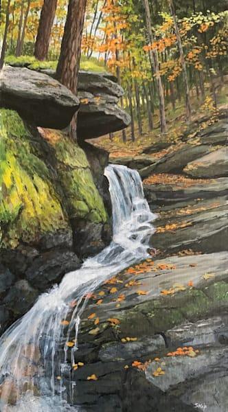 Rocky Overhang Art   Skip Marsh Art