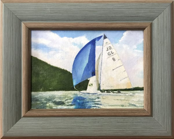 Sailing On Grand Lake Art | Moore Design Group