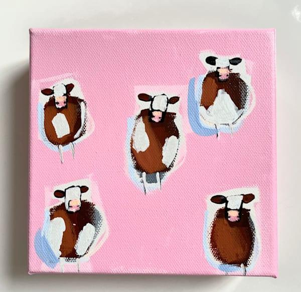 Mini Cows Pinky Sold | Lesli DeVito