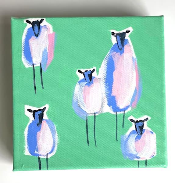 Mini Sheep Meadow | Lesli DeVito