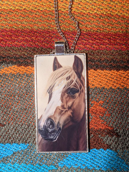 """Pippi"" pendant and necklace by award winning artist Melissa Tohlakai"