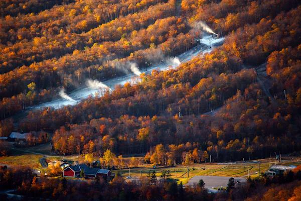 First Light On The Snowmaking Season