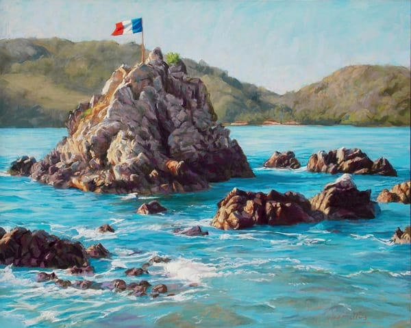 The Mystery Of The French Flag In Mexico  Art | Waif Mullins Art