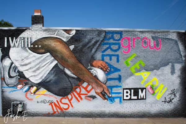 Black Lives Matters Mural (Kansas City, Ks) Art | Anita's Art