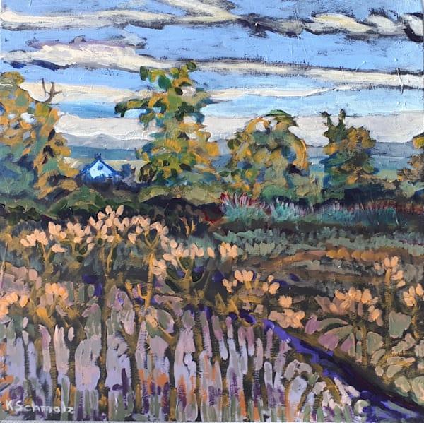 Field Of Thistles Art | kathleenschmalzartist