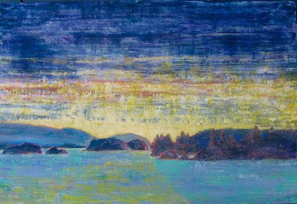 Island Sunset Art | kathleenschmalzartist