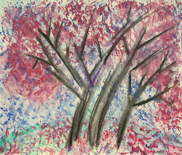 Spring Falling Art | Alena Dawn Art & Design