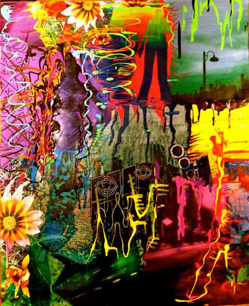 Worlds Collide Art | Alena Dawn Art & Design