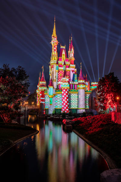 Christmas Scene 1 From Tomorrowland At Night Photography Art | William Drew Photography