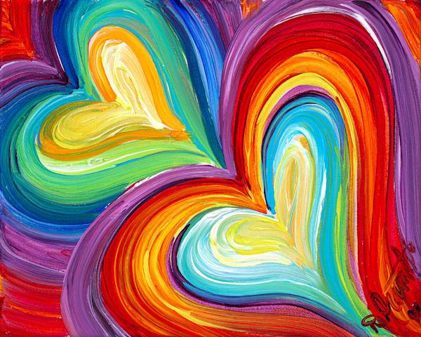 Sweetheart Heart Red 1 Art | Heartworks Studio Inc