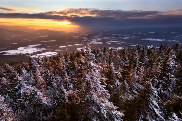 Elmore Winter Sunset