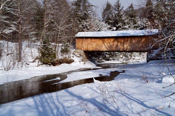 Morgan Bridge Winter