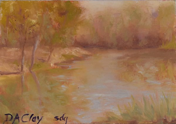 Sara's Autumn  Pond
