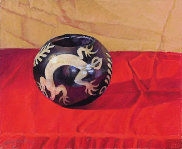 Lenca Coil Pot From Roatan, Honduras Art | Waif Mullins Art