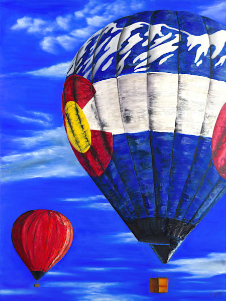 Floating on Air - Balloon
