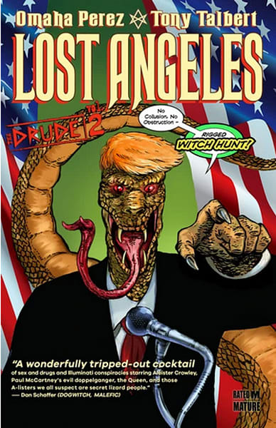 The Drude V2: Lost Angeles Graphic Novel | Omaha Perez Art
