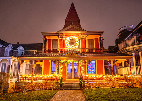 Ocean Park Gingerbread Christmas Art | Michael Blanchard Inspirational Photography - Crossroads Gallery