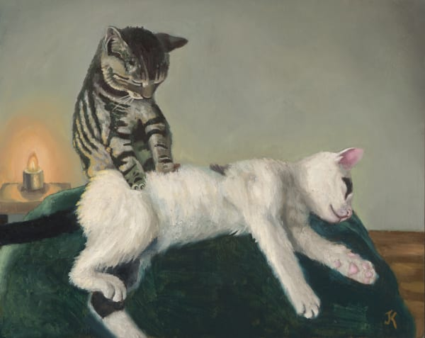 art of cat massage