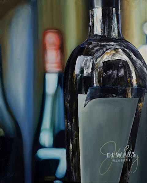 7 cellars - lucky 7 painting