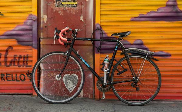 Colorful Bike Nyc Art   Lens Prose Gallery Studio, LLC