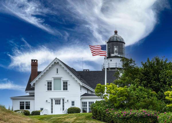 Cape Elizabeth Lighthouse Photography Art   Robert Vielee Photography