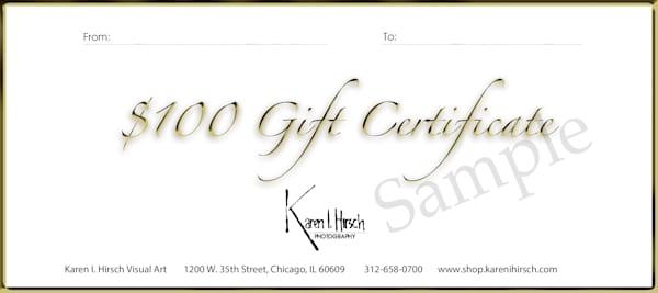 $100 Gift Card | karenihirsch