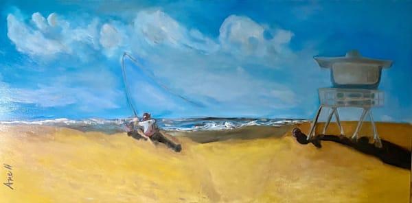 End of Summer in Port Hueneme seascape art