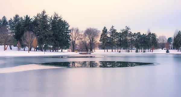 """Winter On Kiwanis Lake"" Photography Art | Inspired Imagez"