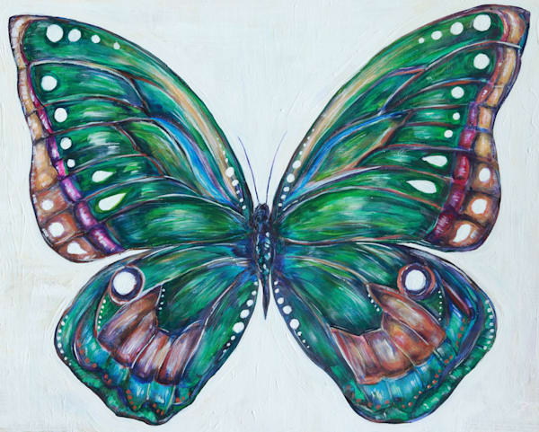 Gabriel S Butterfly Art | Art By Dana