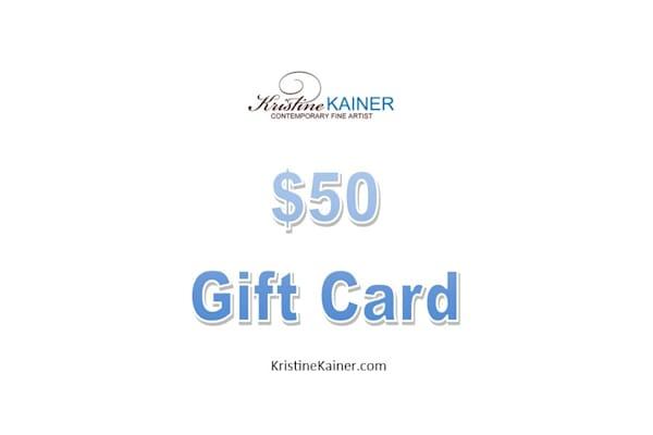 $50 Gift Card | Kristine Kainer