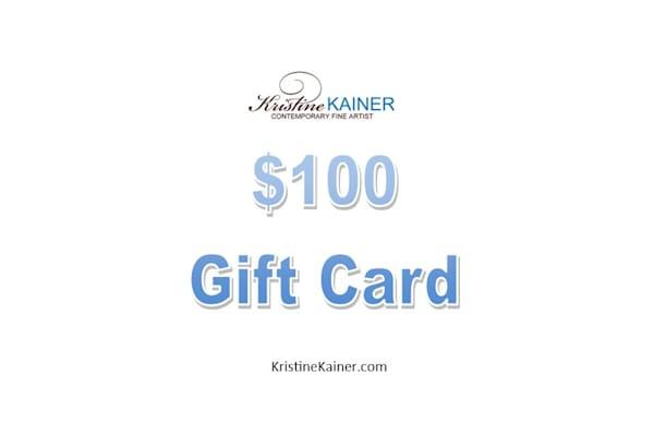 $100 Gift Card | Kristine Kainer