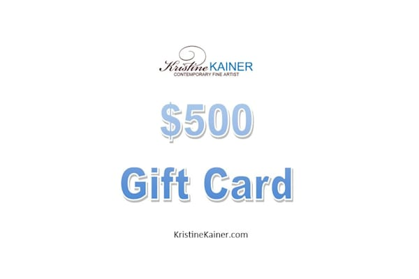 $500 Gift Card | Kristine Kainer